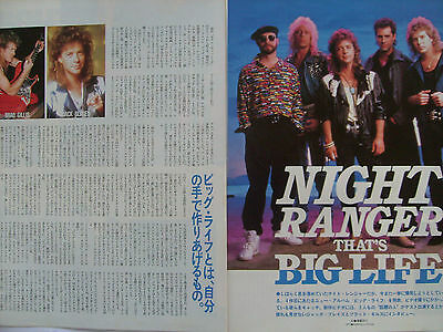 Night Ranger - Clippings From Japanese Magazines