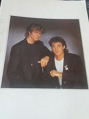 WHAM! The Big Tour 1984 Official Programme, George Michael & Andrew Ridgeley