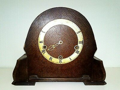 Royal Enfield Westminster chime mantel clock for spares or repair