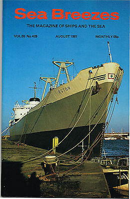 Sea Breezes Aug 1981 Caledonian Princess At Dover, Tale Of A Commodore