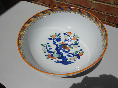 Mottahedeh Colonial Williamsburg Bassett Hall Punch Bowl Chinese Export Porc