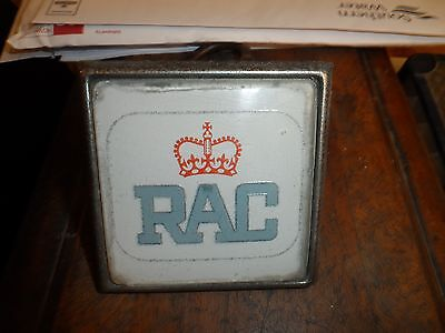 Rac and AA car grille badges retro vintage classic motoring suit rover mg jaguar