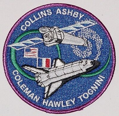 Aufnäher Patch Raumfahrt NASA STS-93 Space Shuttle Columbia ...........A3031