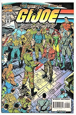 MARVEL COMIC G.I. JOE A REAL AMERICAN HERO #155 Direct  Edition  NM 9.4+