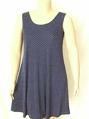 Short A-Line Tank stretchy poly//span #BF PINK Travel Knit Dress NEW