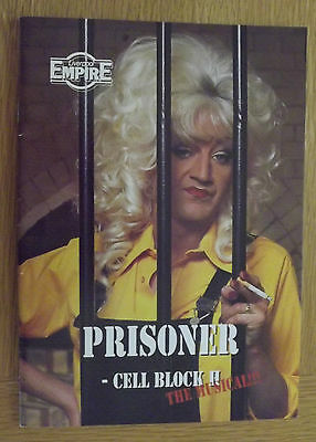 Prisoner Cell Block H The Musical Liverpool Empire 1996 Theatre Prog Lily Savage