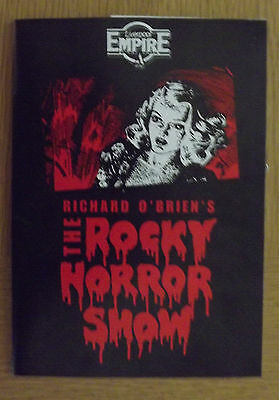 The Rocky Horror Show Liverpool Empire Theatre Programme 1991+Ticket Stub:signed