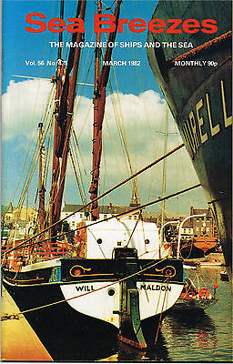 Sea Breezes March 1982 Career Of The Troopships 4 Empire Brent & Captain Cook