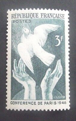 France-1946-3F Peace Conference issue-MNH
