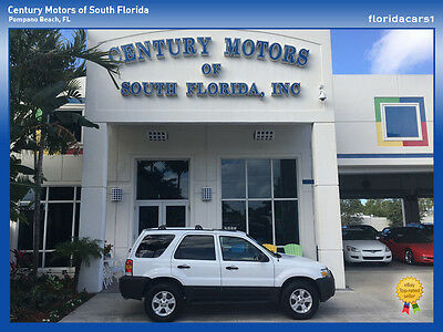 2005 Ford Escape  FLORIDA SUV NON SMOKER SALT FREE RUST FREE 1 OWNER NIADA CERTIFIED
