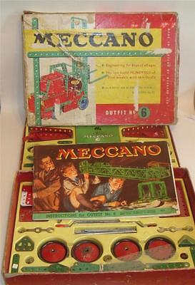 MECCANO OUTFIT 6 c 1960's