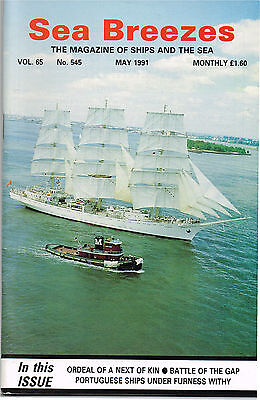 Sea Breezes May 1991 ORDEAL OF A NEXT OF KIN BATTLE OF THE GAP PORTUGUESE SHIP U