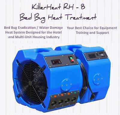 KillerHeat RH-8 Bed Bug Heater Includes attachable air mover