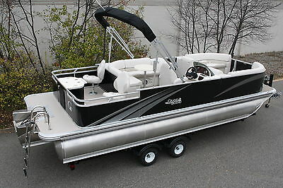 New 24 ft TMLTZ  pontoon boat with High performance tubes
