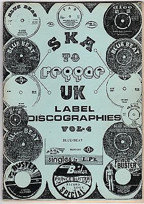 Ska to Reggae label Discographies Blue-Beat Blue Cat Booklet 1980 Prince Buster