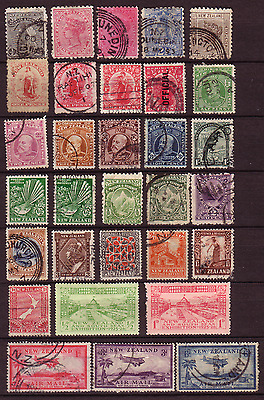New Zealand Nice Pre-52 Selection Of Stamps....