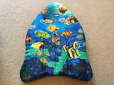 Cool Childs S A bodyboard / boogie board surf  BNWOT with fish design !
