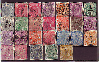 India Pre-52 Selection Of Stamps.......