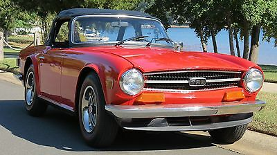 1973 Triumph TR-6  elling this GORGEOUS 1973 Triumph TR6.  With A Free Shipping Option