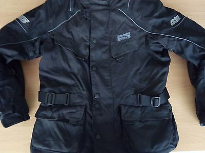 IXS Men's Motorcycle Touring Jacket Black Size L