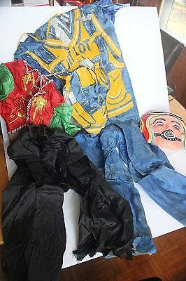 Jet Pilot Pirate Masquerade Costume Collegeville Halloween Child Boy Girl As Is