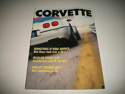 Corvette Quarterly Magazine Spring 1989 Issue Clean More Listed