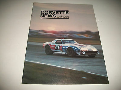 Corvette News Magazine June / July 1973 Issue Clean More Listed