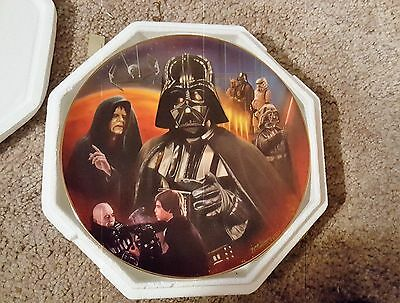 Star Wars The Hamilton Collection Darth Vader Portrait Collage Plate