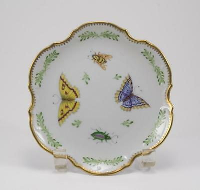 """Anna Weatherley Porcelain Bread & Butter Plate 6.25"""" Spring in Budapest Signed"""