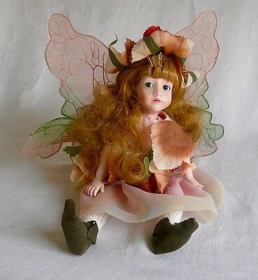 """Clover"" Fairy Doll by Cindy McClure"