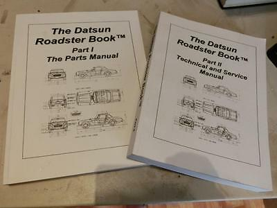 The Datsun Roadster Book - 2 Parts 1600 and 2000