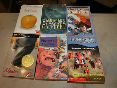 60 CHILDRENS CHAPTER BOOKS Accelerated Reader 4 5 6th Grade Level Lot Class Set