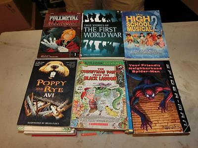 61 CHILDRENS CHAPTER BOOKS Accelerated Reader 4 5 6th Grade Level Lot Class Set