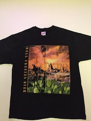 Eagles Concert Tee Shirt Hell Freezes Over World Tour 1995