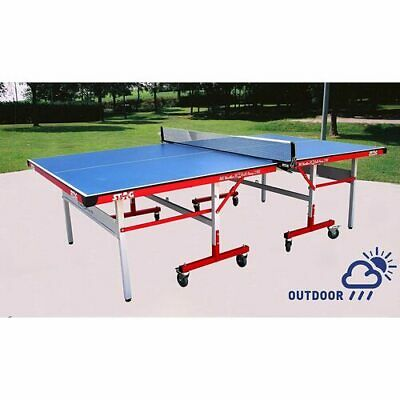Table Tennis Ping Pong Table Pro Size 25Mm Top - Tournament Quality