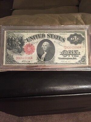 1917 $1 Red Seal Note