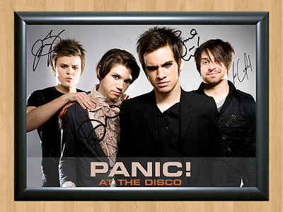 Panic! at the Disco Dallon Weekes Signed Autographed A4 Photo Poster Memorabilia