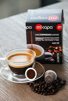 Micapa Ristretto (Box of 100) | Nespresso® COMPATIBLE CAPSULES MADE IN ITALY