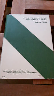A role for Europe in the- North-South conflict + dedication of Bernard Lietaer