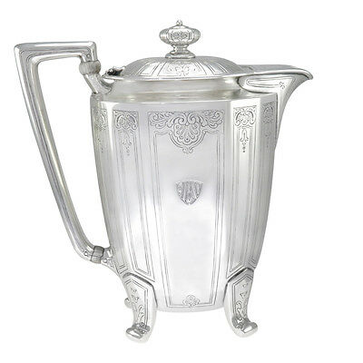 7 in - Tiffany & Co. Sterling Silver Antique Art Deco Coffee Pot