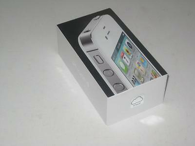 IPHONE 4 WHITE 8gb BOX AND QUICK START GUIDE ONLY!! MANUAL
