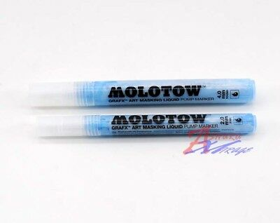 Tamiya Model Molotow Grafx Art Paint 2mm 4mm Ink Marker Masking Liquid Pen