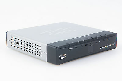 Cisco SG200 SLM2008 PD 8-Port Gigabit Switch mit Netzteil