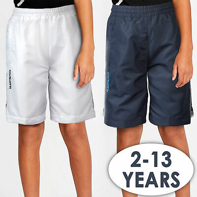 CARLOTTI Boys Sports Shorts (Ages 2-13 Years) Beach Swimming Bottoms Zip Pockets