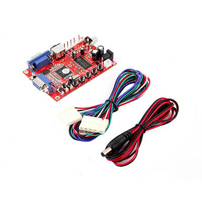 Arcade Game RGB/CGA/EGA/YUV to VGA Video Converter For HD/Jamma /Mame and More
