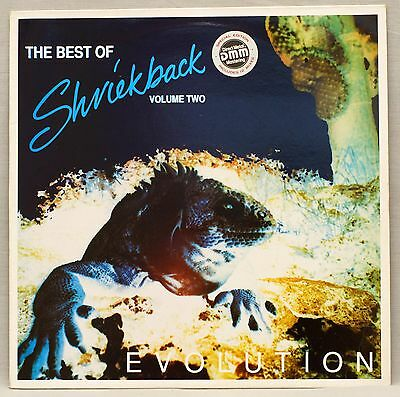 The Best Of Shriekback Volume 2 Evolution Vinyl LP 1980s New Wave EX-/EX-