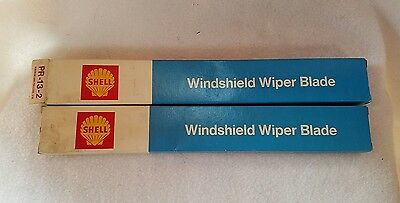 Vintage pair ofShell Oil Co. Windshield Wiper Blades #PR-13-2 new.  S4