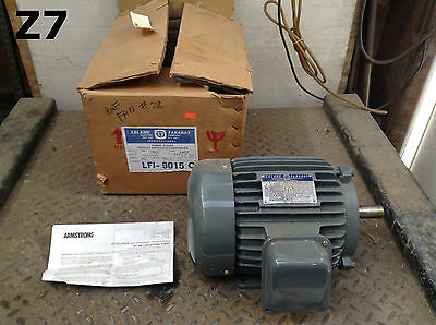 Leland Faraday LFI-9015C Electric Motor 1-1/2HP 1800RPM 208-230/460V 3PH -NIB