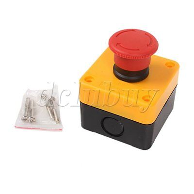 Reliable Emergency Stop Push Button Box 660V Switch for Elevator