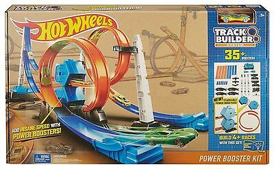 Hot Wheels Track Builder System - Power Booster Kit Playset - DGD30 - New